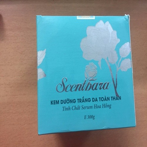 Kem dưỡng trắng da toàn thân Scentbara tinh chất Serum hoa Hồng 3