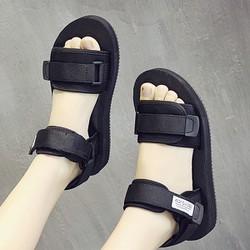 Giày Sandal Nữ quai ngang cá tính thời trang năng động - SG0379