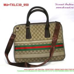 Túi xách laptop thiết kế sang chãnh phối viền nổi bật TXLC30