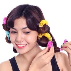 Bộ uốn tóc lò xo không nhiệt tiện dụng