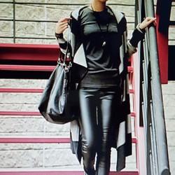 Quần legging nữ kiểu dáng cá tính, phong cách sành điệu.