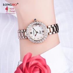 Đồng hồ nữ cao cấp dây Ti tan máy Nhật