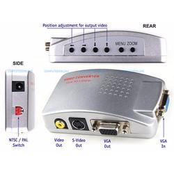 Hộp chuyển đổi tín hiệu từ VGA sang SVIDEO - AV