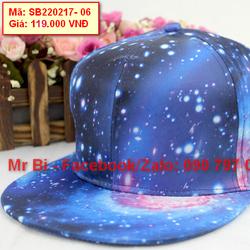 Nón mũ Snapback Galaxy đẹp, phong cách, cá tính, giá rẻ