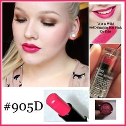 Son Wet N Wild #905D Màu hồng mười giờ
