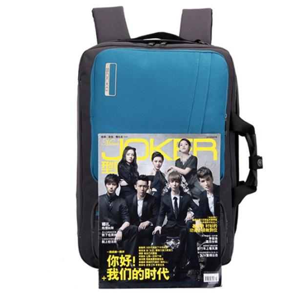 Balo laptop Socko SH-668 đen chính hãng 12