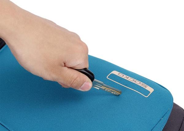 Balo laptop Socko SH-668 đen chính hãng 17