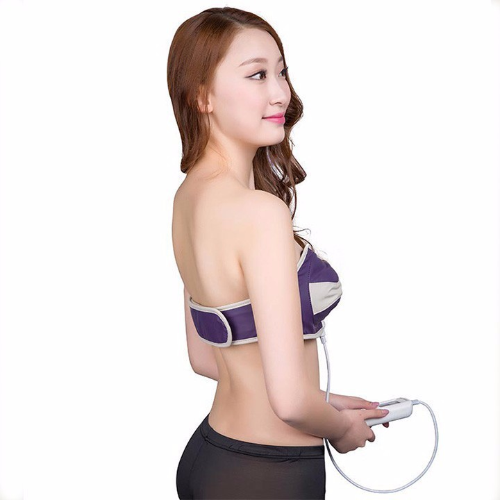 Đai Massage Massage Nâng Ngực Có Tia Hồng Ngoại 3