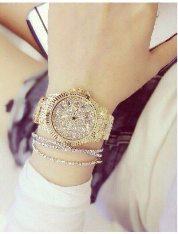 Đồng hồ nữ đính hạt thời trang 4