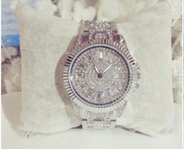 Đồng hồ nữ đính hạt thời trang 1