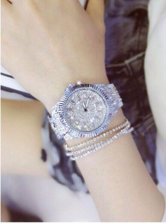 Đồng hồ nữ đính hạt thời trang 2