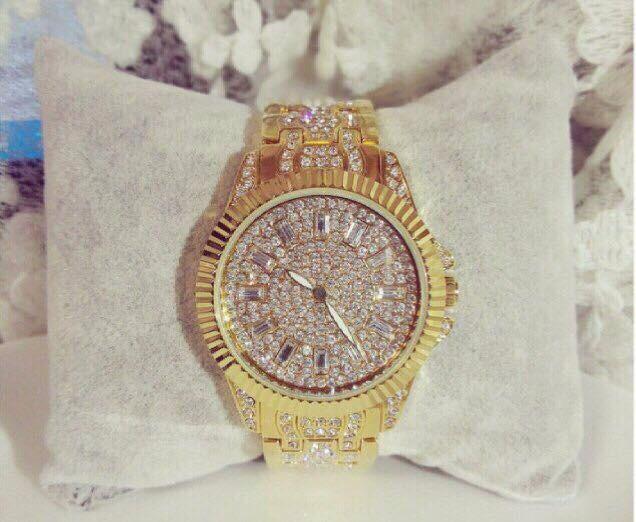 Đồng hồ nữ đính hạt thời trang 3