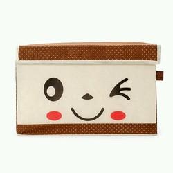 Túi vải mặt cười