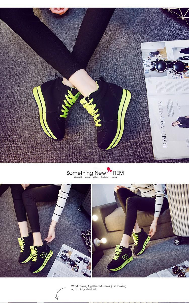 Giày Độn Nữ 7 cm Đẹp - NU08 2