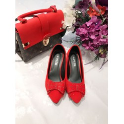 giày cao gót da lộn đẹp và ấn tượng