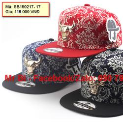 Nón mũ Snapback logo bò rừng Buffalo cá tính, độc đáo giá rẻ