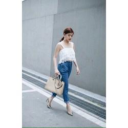 quần baggy jeans dày mềm