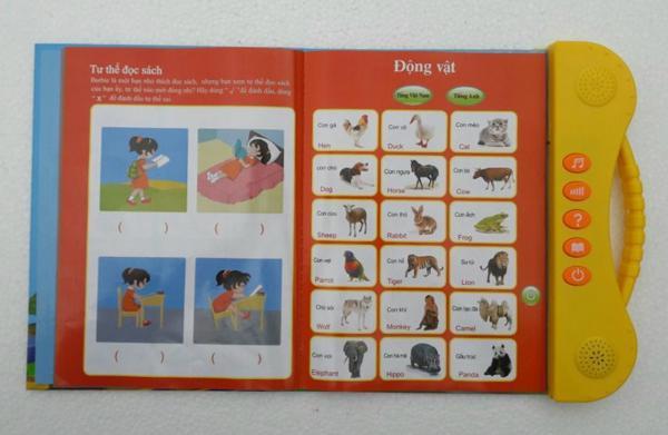 Sách điện tử Song Ngữ ANh Việt,học tiếng anh cho bé 11