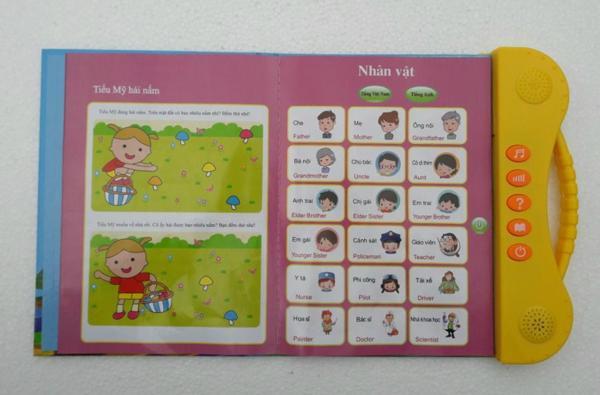 Sách điện tử Song Ngữ ANh Việt,học tiếng anh cho bé 9