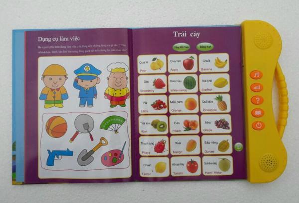 Sách điện tử Song Ngữ ANh Việt,học tiếng anh cho bé 12
