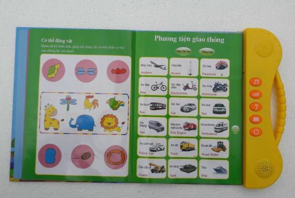 Sách điện tử Song Ngữ ANh Việt,học tiếng anh cho bé 10