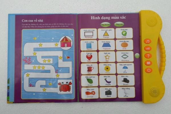 Sách điện tử Song Ngữ ANh Việt,học tiếng anh cho bé 8