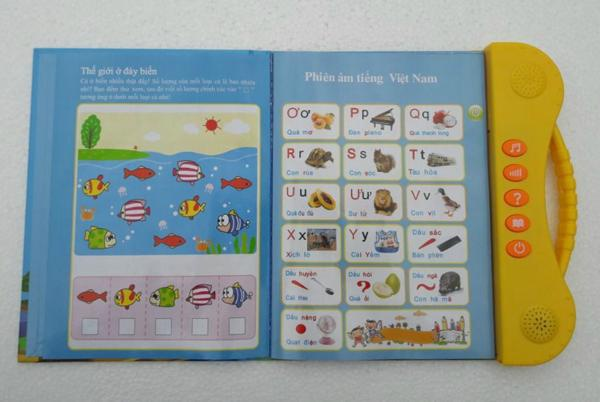 Sách điện tử Song Ngữ ANh Việt,học tiếng anh cho bé 4