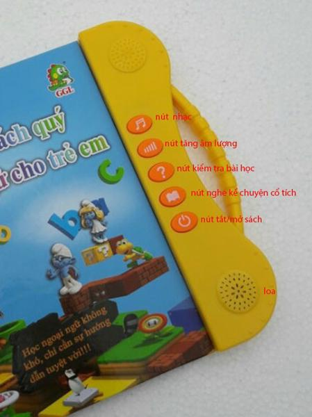 Sách điện tử Song Ngữ ANh Việt,học tiếng anh cho bé 2