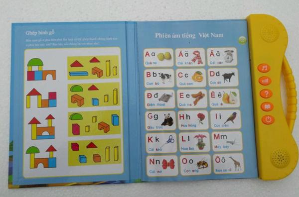 Sách điện tử Song Ngữ ANh Việt,học tiếng anh cho bé 3