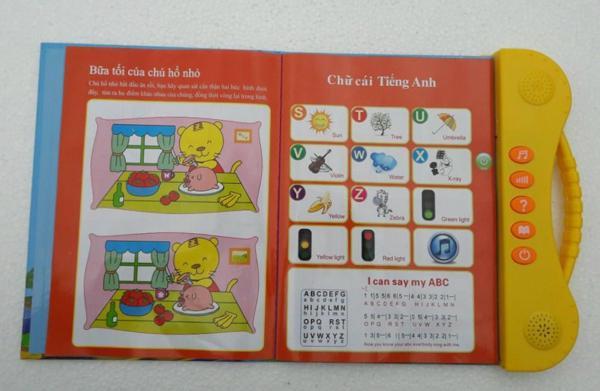 Sách điện tử Song Ngữ ANh Việt,học tiếng anh cho bé 6