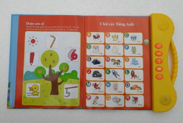 Sách điện tử Song Ngữ ANh Việt,học tiếng anh cho bé 5