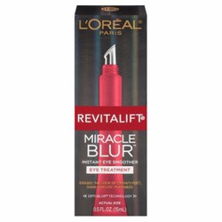 Bộ dưỡng mắt  Revitalift Miracle Blur Instant Eye Smoother 0.5 fl oz