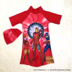 Set đồ bơi Iron man - hàng nhập chất đẹp