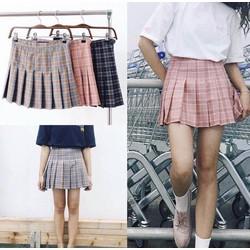 Chân váy caro hàng Quảng Châu