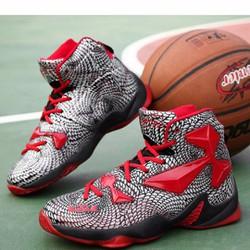 giày thể thao cổ cao năng động Mã: GH0449 - ĐỎ