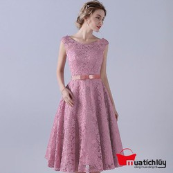 MTL - Đầm ren nổi Kerry