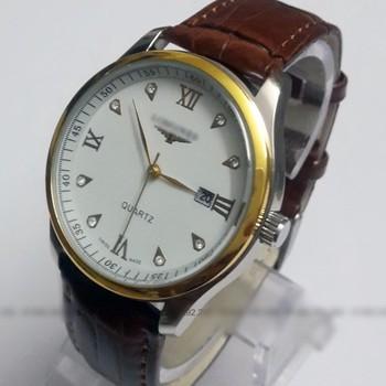 đồng hồ kim chống nước kính tinh thể saphire mã LGS01