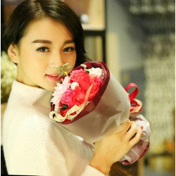 hoa hồng bó xinh xắn cho các tinh iu