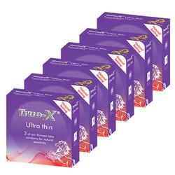 Bộ 6 hộp bao cao su True-X Ultra Thin