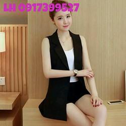 Áo vest nữ 2 lớp thời trang Hàn Quốc mới L12A205