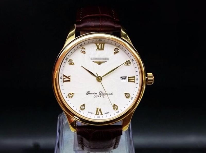 đồng hồ kim chống nước kính tinh thể saphire mã LGS01 3