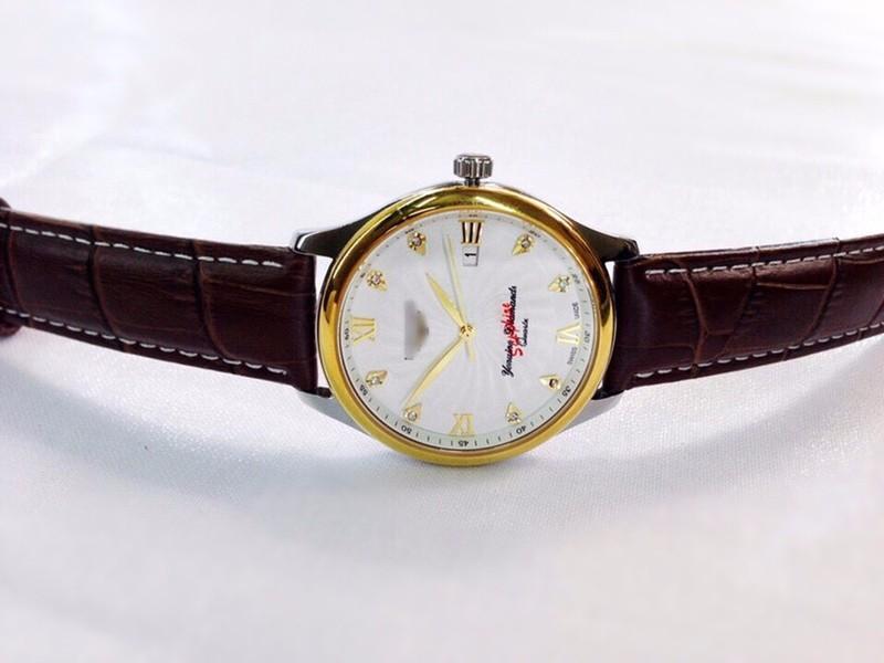 đồng hồ kim chống nước kính tinh thể saphire mã LGS01 8