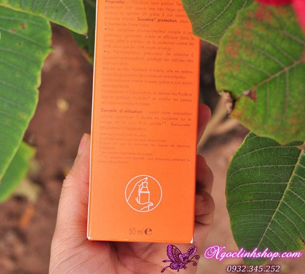 Kem chống nắng Avene Very High Protection Emulsion 50+ 6
