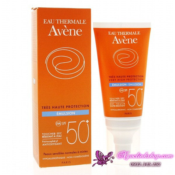 Kem chống nắng Avene Very High Protection Emulsion 50+ 1