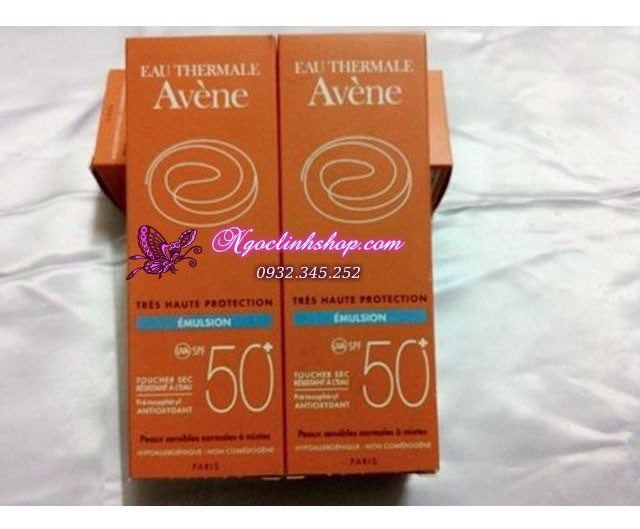 Kem chống nắng Avene Very High Protection Emulsion 50+ 2