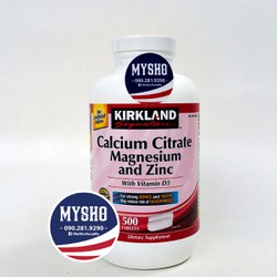 Calicum Citrate Magnesium and Zinc with D3 - Bổ sung canxi cho xương