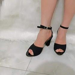 Giày sandal nữ ôm chân