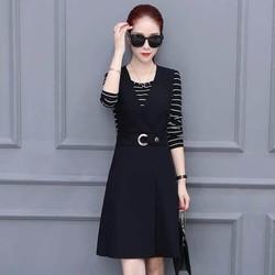 set áo váy trẻ trung sành điệu AV573
