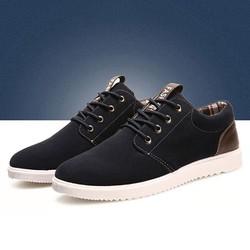 giày nam thời trang phong cách hàn quốc PJF17 - màu xanh