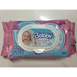 Khăn ướt Bobby 100 tờ